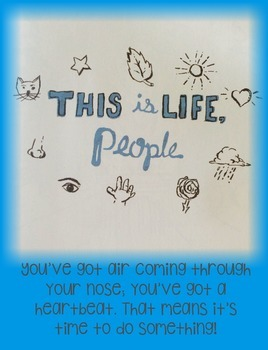 Kid President Themed Poster--This is Life, People!