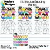 Hadasa Designs: Kid Heads Reading Bundle