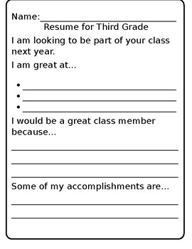 Children resume writing manmohans resume
