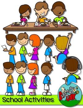 Kid School Activities Clip art