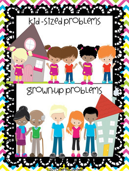 Kid-Sized Versus Grown-Up Problems & Responsibilities:  The Sorting Game