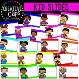 Kid Slides: Quick Templates {Creative Clips Clipart}
