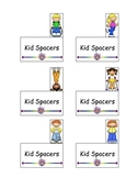 Kid Spacers--Finger spacing tool.