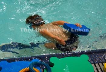 Kid Swimming Underwater Stock Photo #68