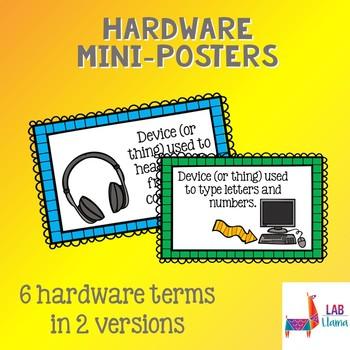 Kid Tech: Computer Hardware Mini-Posters