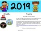 Kid Themed 2019 Calendar Topper
