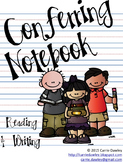 Kid-Themed Conferring Notebook - Editable Forms for Readin