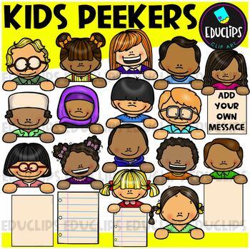 Kid Toppers Clip Art Bundle