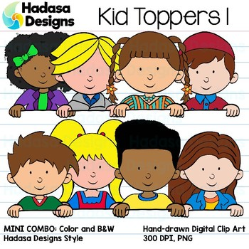 Hadasa Designs: Kid Toppers - Bundle 1