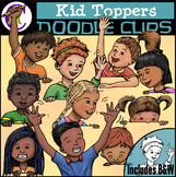 Kid Toppers Clipart