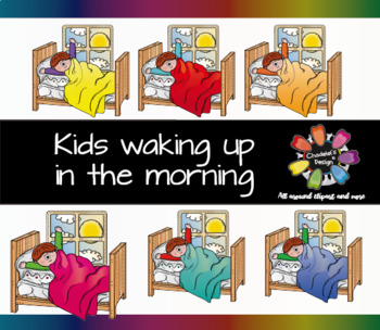 Kid Waking Up in the Morning