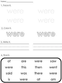 Kid Writing Crown Practice Worksheets