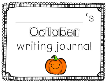 Kid Writing Monthly Journals