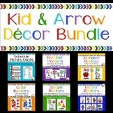 Kid and Arrow Decor BUNDLE