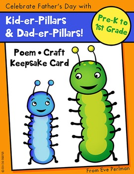 Kid-er-Pillars! Father's Day Card, Craft, and Poem (Family