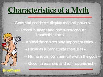 Kid-friendly Myths PowerPoint
