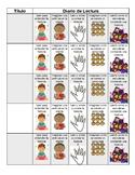 Kid friendly Spanish Reading Log