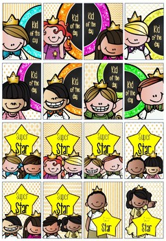 Kid of the Day Brag Tags