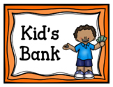 Kid's Bank (Dramatic Play)