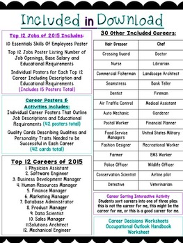 Kid's Career Choices (Career of Month, Career Education, Community Helpers)