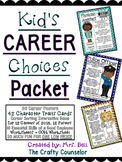 Kid's Career Choices (Career of Month, Community Helpers) #sweetcounselor