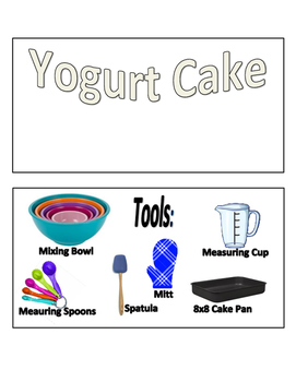 Kid's Cooking Activity Cards