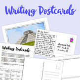Kid's Geography: Writing Postcard Activity + Rubric