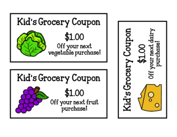 Kid's Grocery (Dramatic Play)