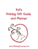 Kid's Printable Christmas Planner Pages