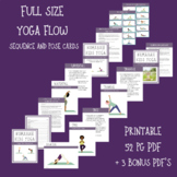 22 Kid's Yoga Poses, descriptions, and sequence for a kids yoga lesson!