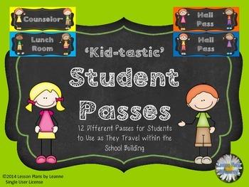 'Kid-tastic' Student Passes  Back To School