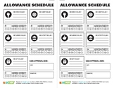 KidCash Allowance Schedule