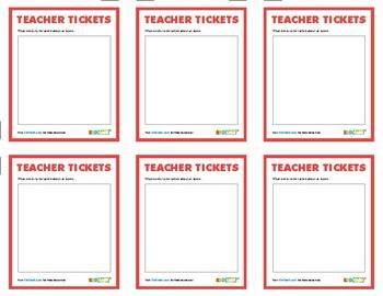 KidCash Teacher Tickets