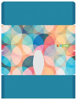 KidCash Wallets - Blue Circles