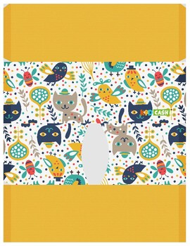 KidCash Wallets - Cats and Birds