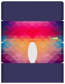 KidCash Wallets - Diamond Rainbow