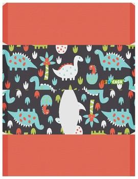 KidCash Wallets - Dinosaurs