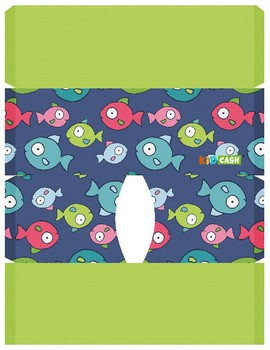 KidCash Wallets - Fish