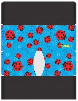 KidCash Wallets - Ladybugs