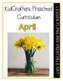 KidCrafters Preschool Curriculum – April