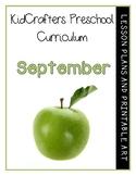 KidCrafters Preschool Curriculum - September