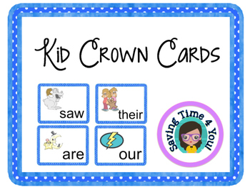 HFW Kid Crown Cards
