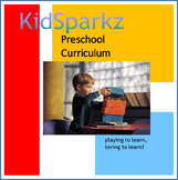 KidSparkz Preschool Curriculum for the Year (Classic Version)