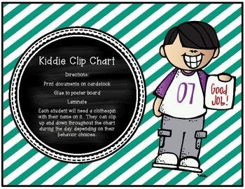 Kiddie Behavior Clip Chart