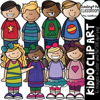 Kiddo Clip Art {Kid Clip art}