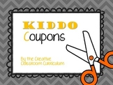 Kiddo Coupons {Behavioral Rewards & Job Cards}