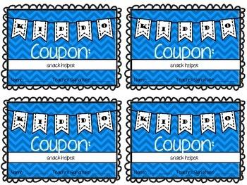 Kiddo Coupons {Behavioral Rewards & Job Cards}