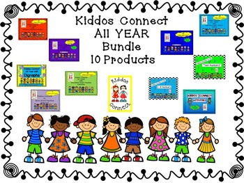 Kiddos Connect ALL Year with 10 Products