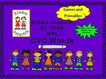 CVC Words--Kiddos Connect All Year With CVC Words