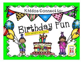 Kiddos Connect to Birthday Fun!